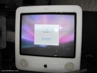 eMac - инсталация на Mac OS X 10.5 Leopard